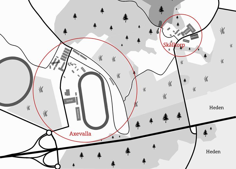 axevalla karta Området   Skara Hästland axevalla karta